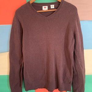Levi's V neck Sweater size M